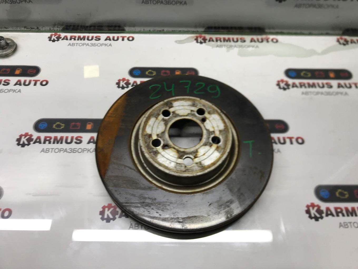 Диск тормозной Toyota Avensis AZT251W 2AZFSE передний