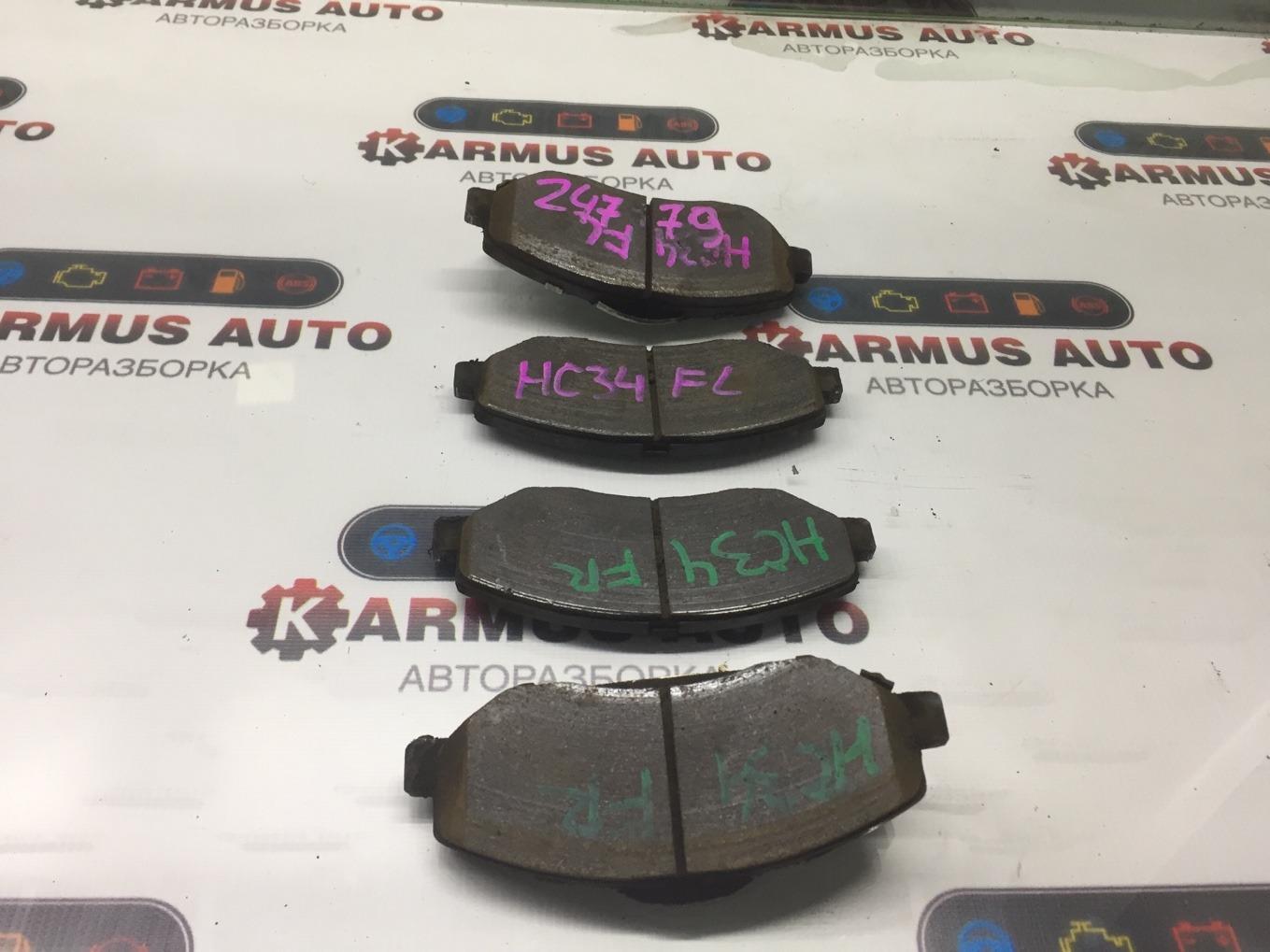 Колодки тормозные Nissan Laurel HC34 RB20E передние