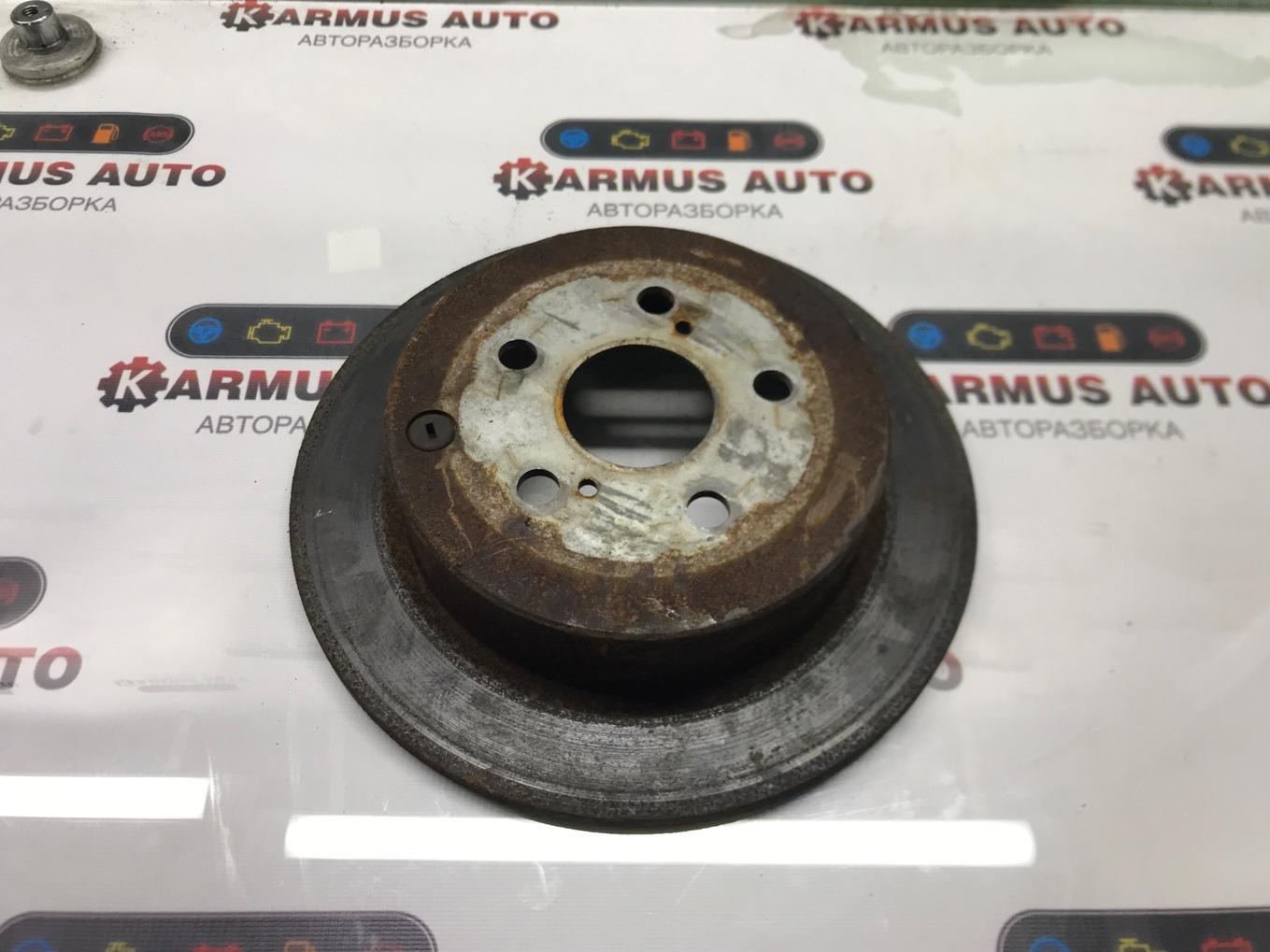 Диск тормозной Toyota Vista Ardeo AZV50 1AZFSE задний