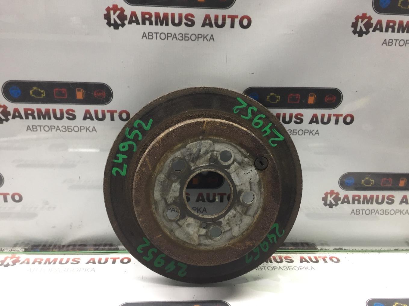 Диск тормозной Toyota Vista SV50 3SFSE задний левый