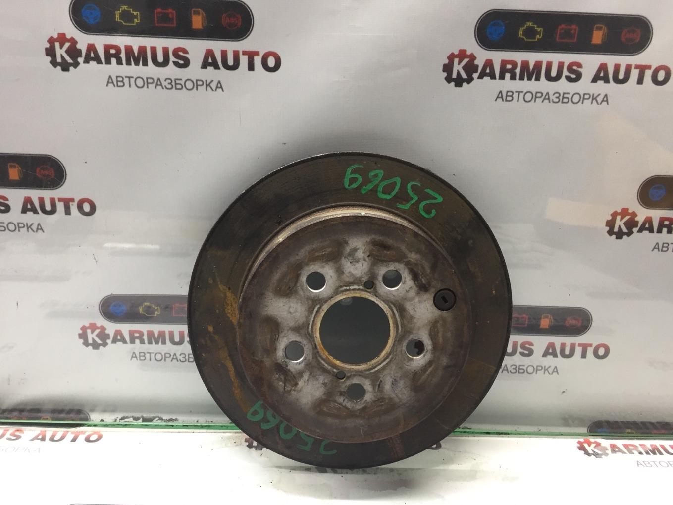 Диск тормозной Toyota Avensis AZT250 1AZFSE задний
