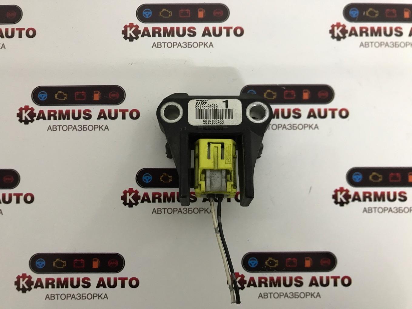 Датчик airbag Toyota Mark X GRX120 3GRFSE передний правый