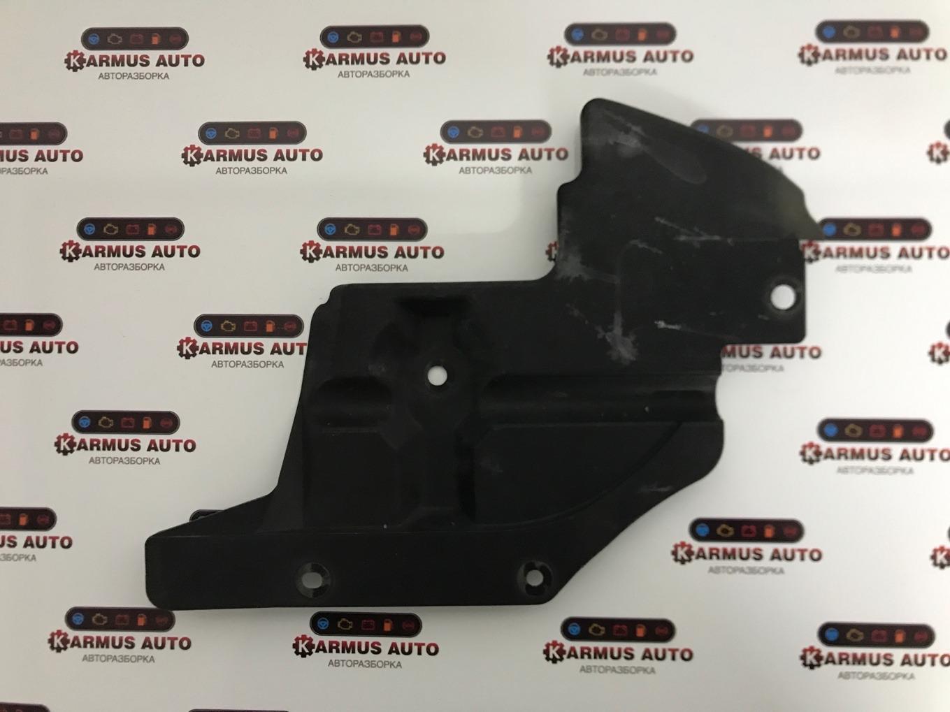 Защита радиатора Toyota Mark X GRX120 3GRFSE правая