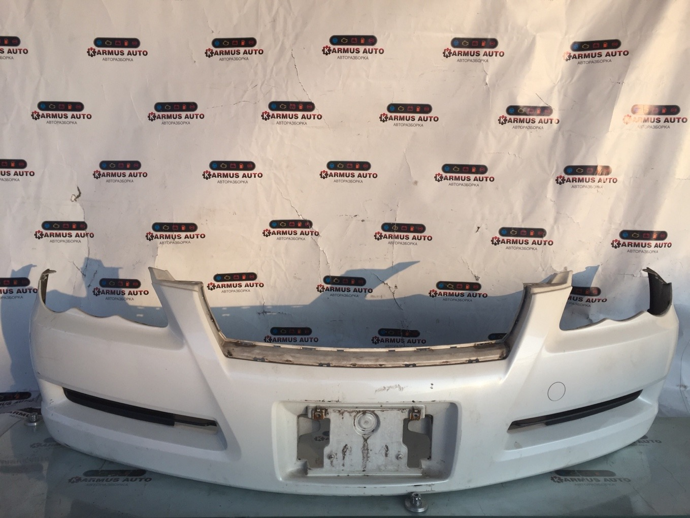 Бампер Toyota Mark X GRX120 4GRFSE передний