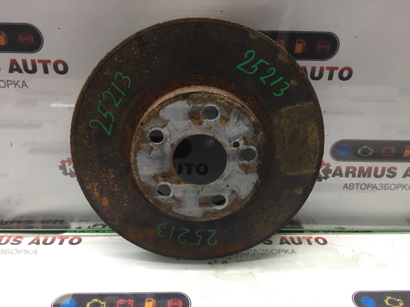 Диск тормозной Toyota Vista Ardeo AZV50 1AZFSE передний правый