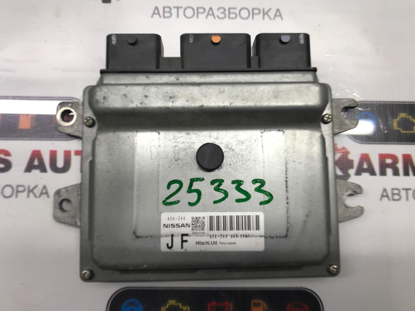 Блок управления двигателем Nissan Lafesta B30 MR20DE