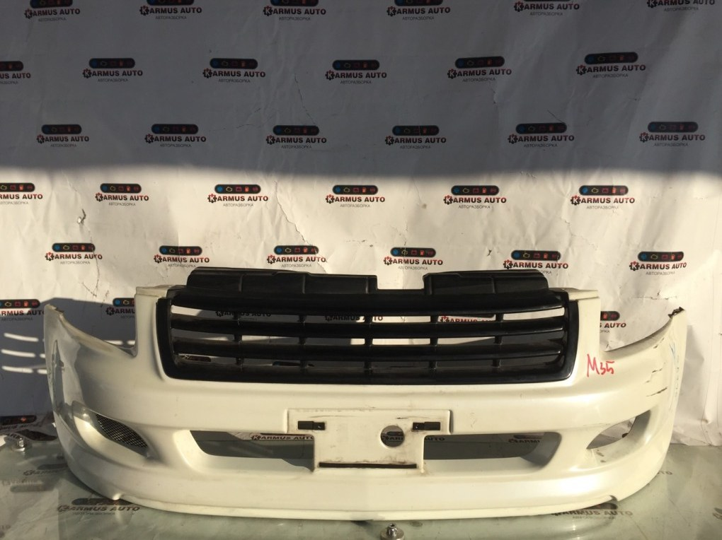 Бампер Nissan Stagea M35 VQ25DD передний