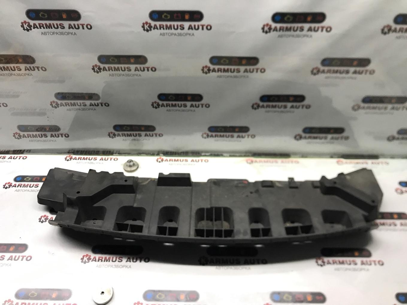 Защита бампера Nissan Tiida C11 HR15DE передняя