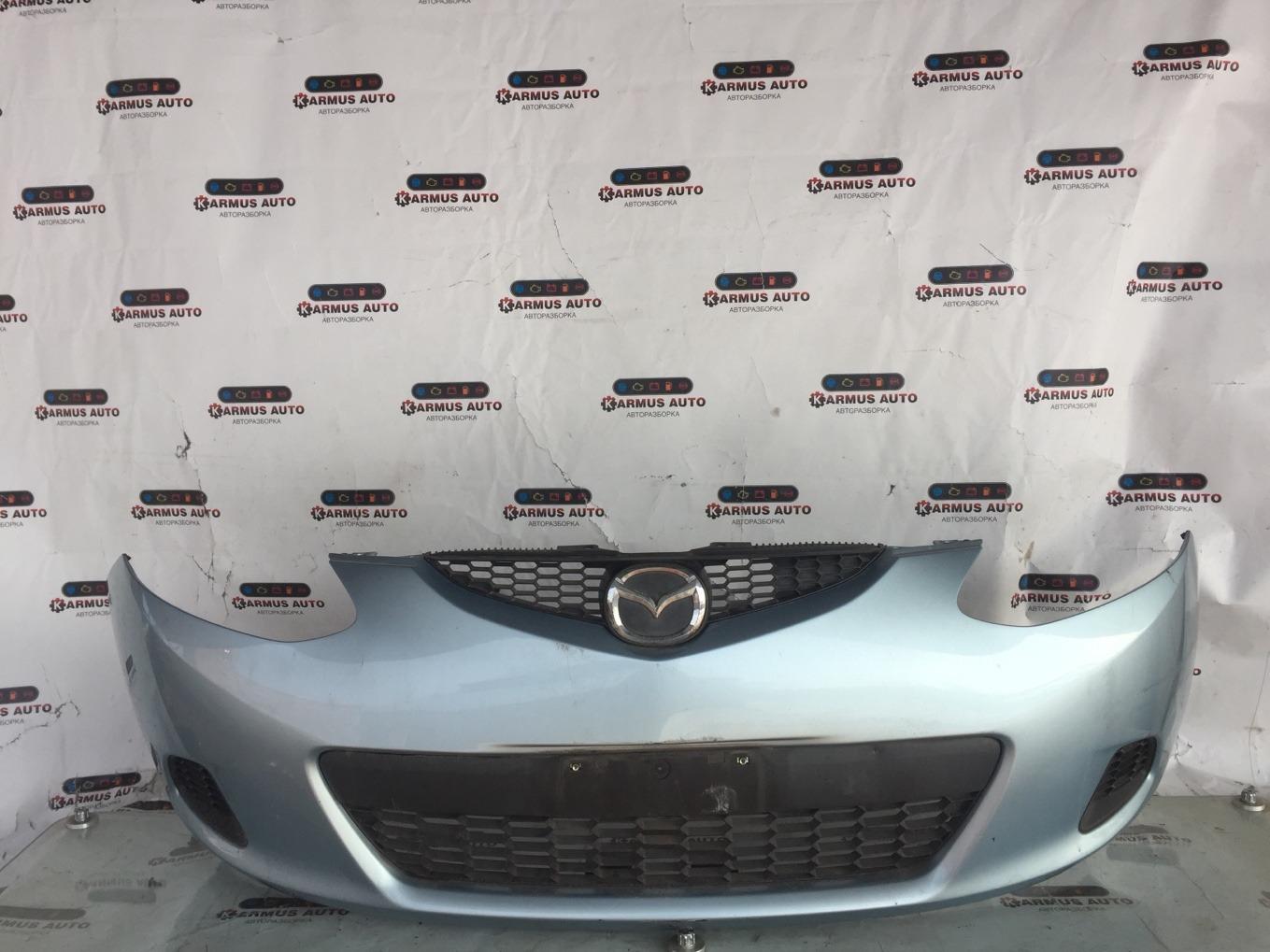 Бампер Mazda Demio DE3FS ZJVE передний
