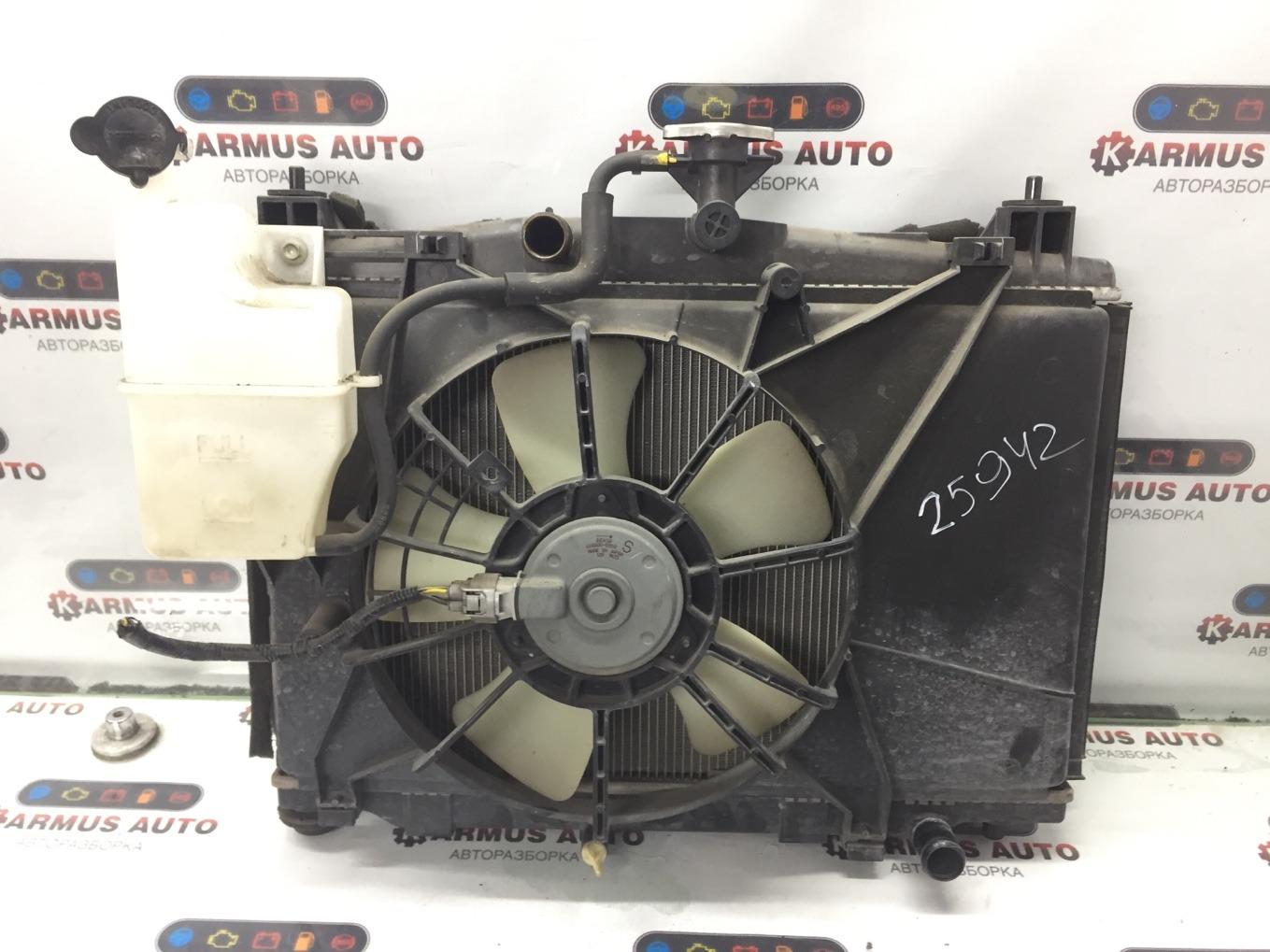 Радиатор основной Mazda Demio DE3FS ZJVE