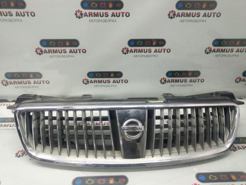 Решетка радиатора Nissan Bluebird Sylphy QG10 QG18DE