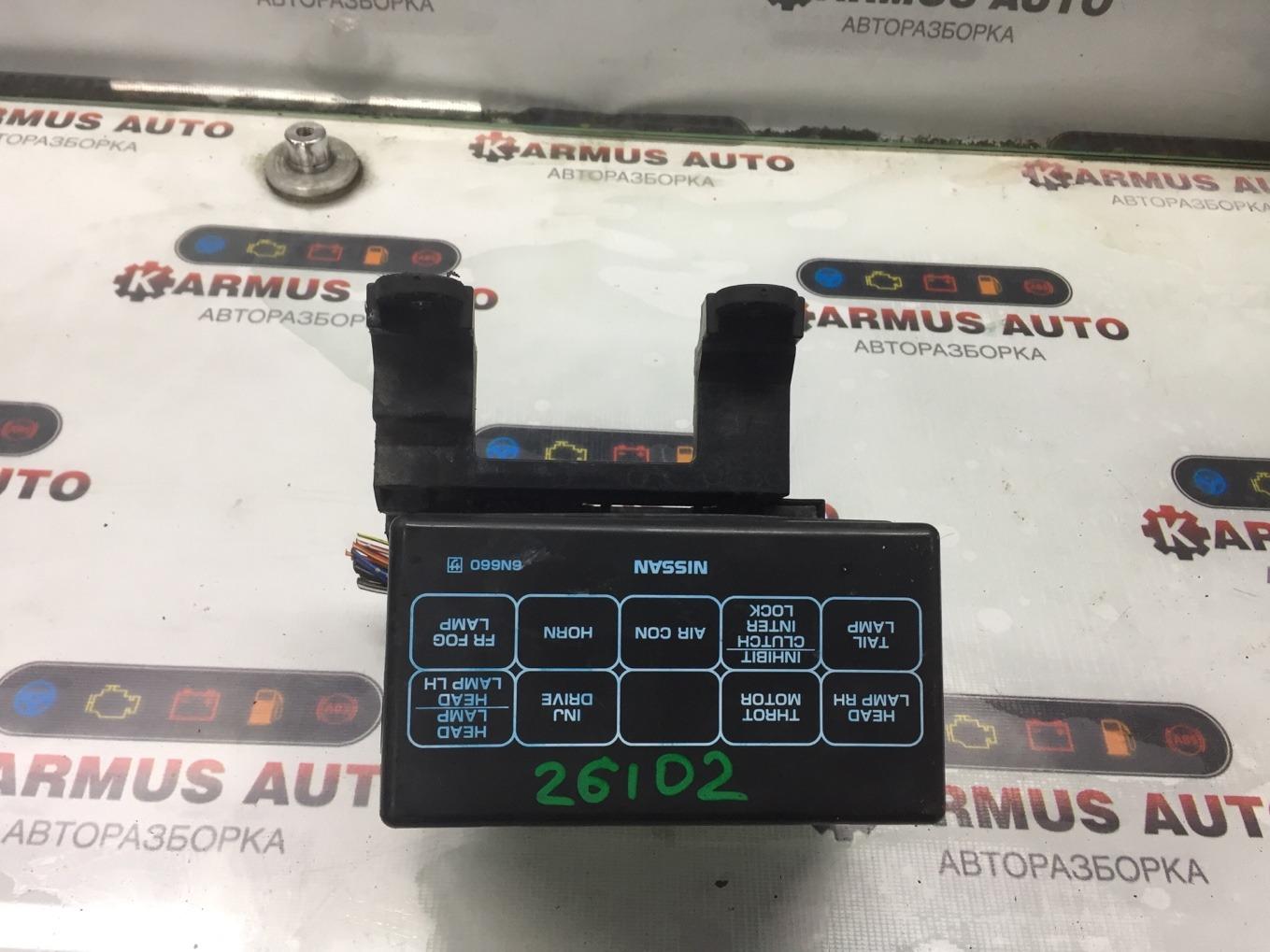 Блок предохранителей Nissan Bluebird Sylphy QG10 QG18DE