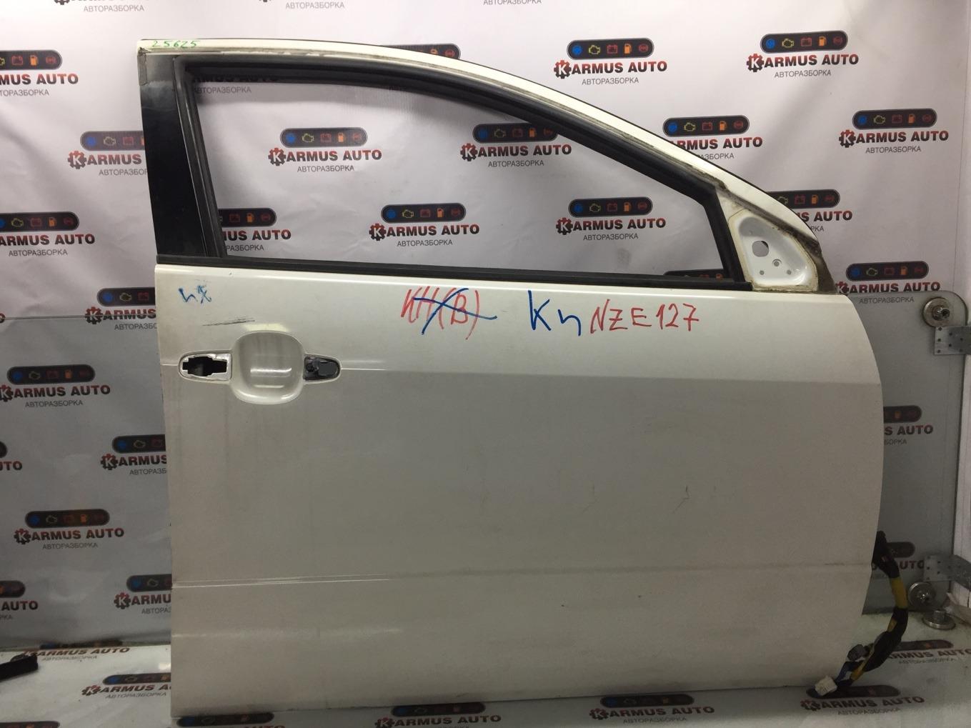 Дверь Toyota Will Vs NZE127 1NZFE передняя правая
