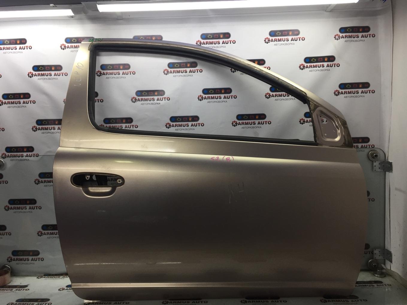 Дверь Toyota Vitz NCP10 2NZFE передняя правая