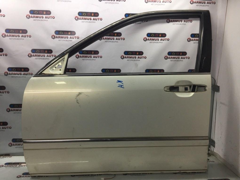 Дверь Toyota Brevis JCG10 1JZFSE передняя левая