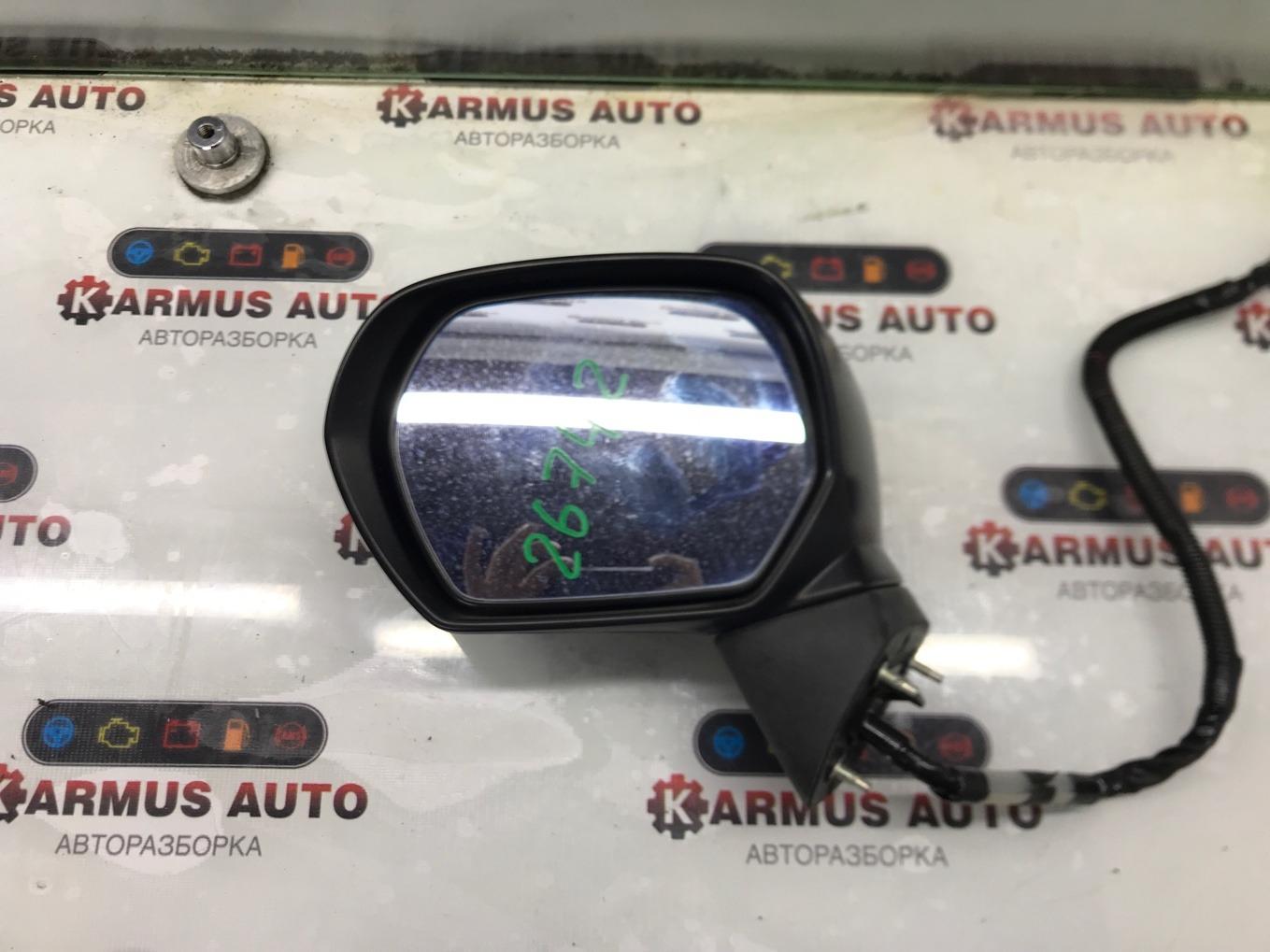 Зеркало заднего вида Honda Odyssey RB3 K24A левое