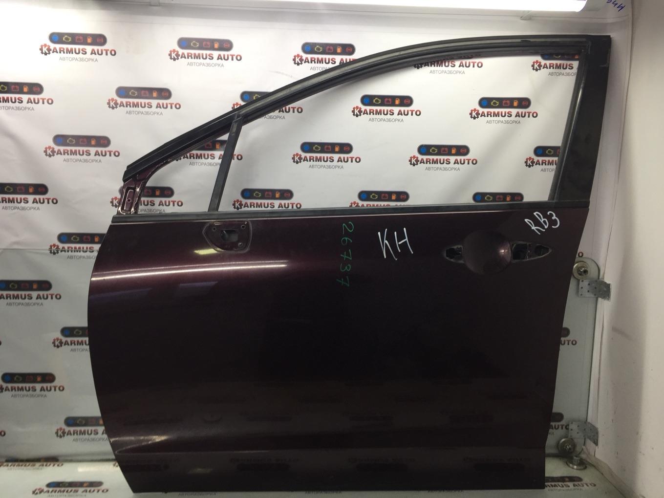 Дверь Honda Odyssey RB3 K24A передняя левая