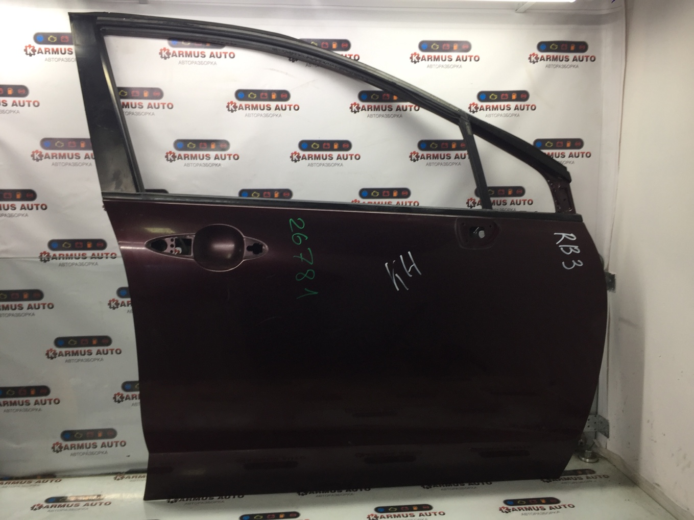 Дверь Honda Odyssey RB3 K24A передняя правая