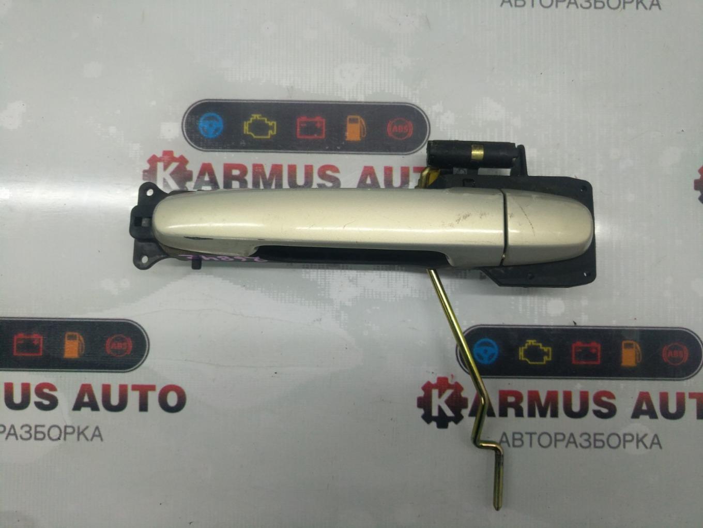 Ручка двери наружная Toyota Passo KGC10 1KRFE передняя левая