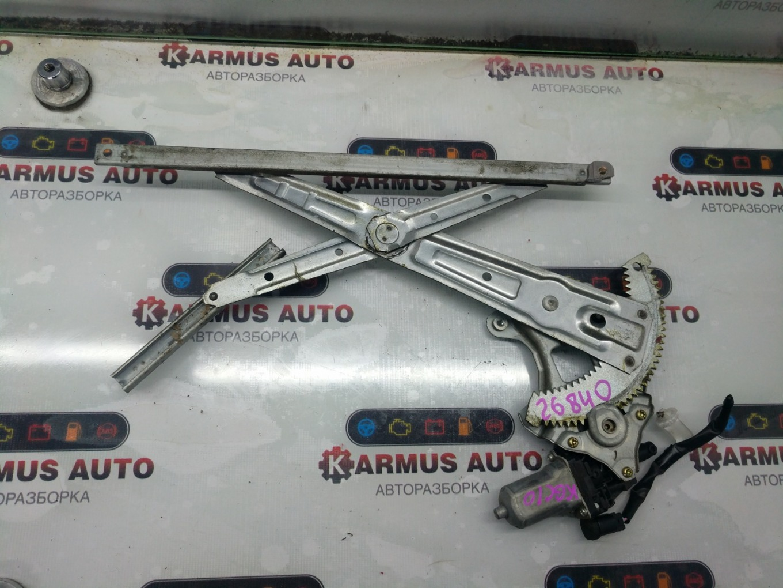 Стеклоподъемный механизм Toyota Passo KGC10 1KRFE передний левый