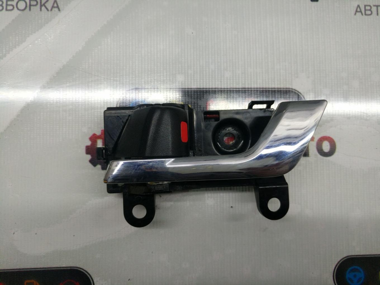 Ручка двери внутренняя Toyota Mark X Zio ANA10 2AZFE задняя левая