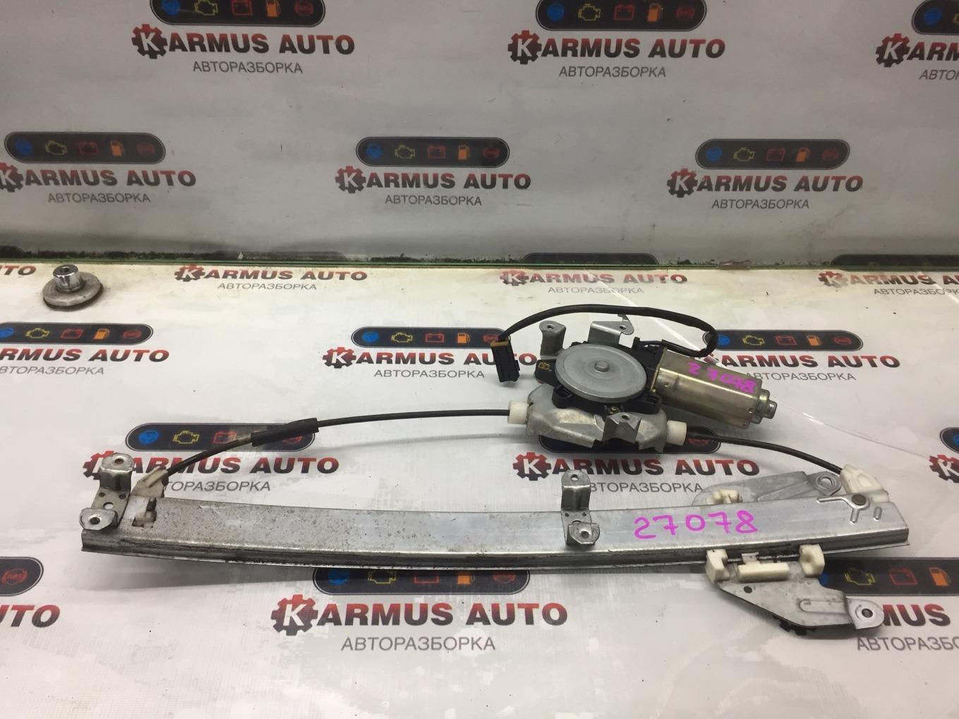 Стеклоподъемный механизм Nissan Terrano RR50 QD32TI задний правый