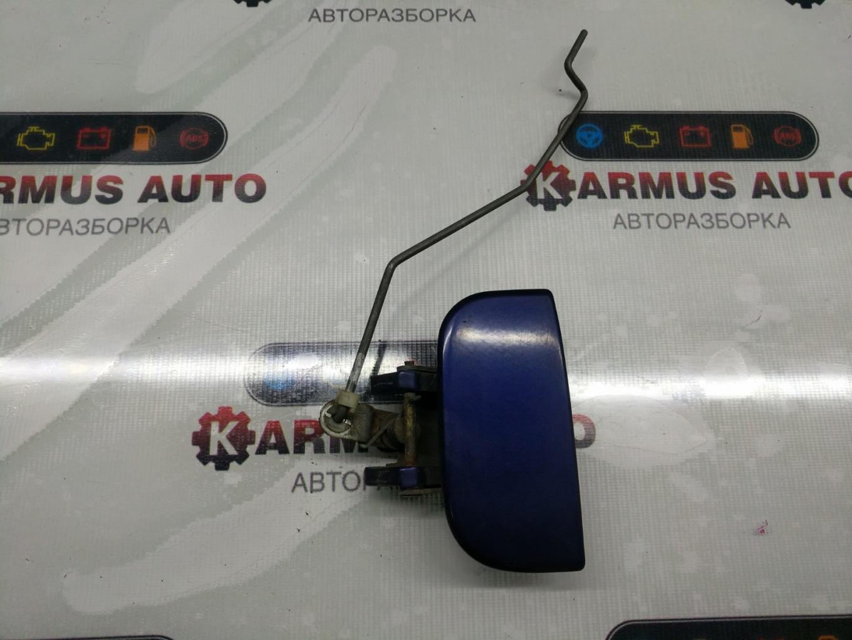 Ручка двери наружная Nissan Terrano RR50 QD32TI задняя левая