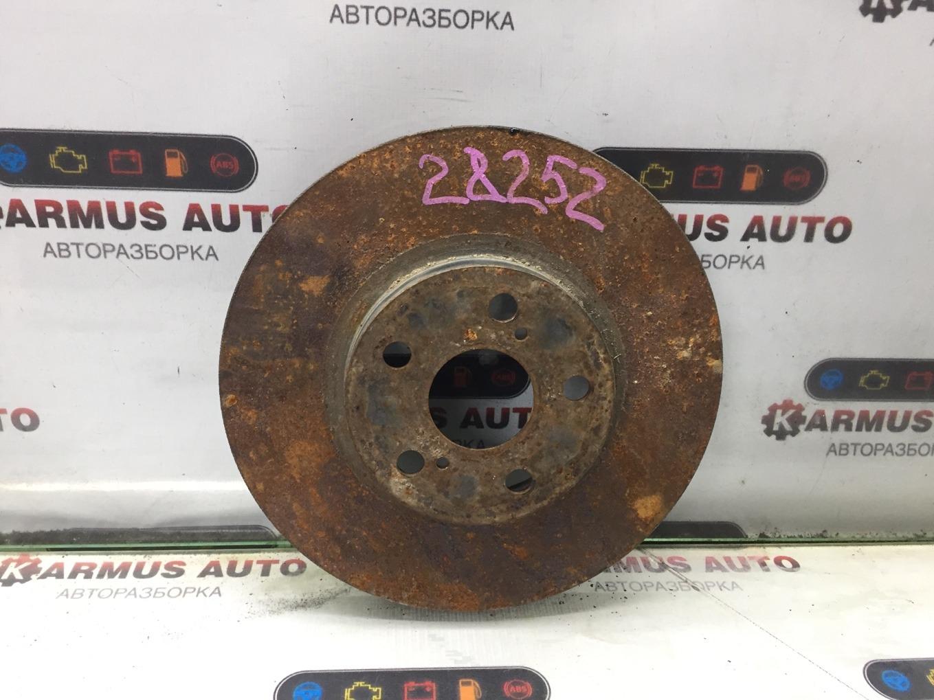 Диск тормозной Toyota Caldina ZZT241W 1ZZFE передний