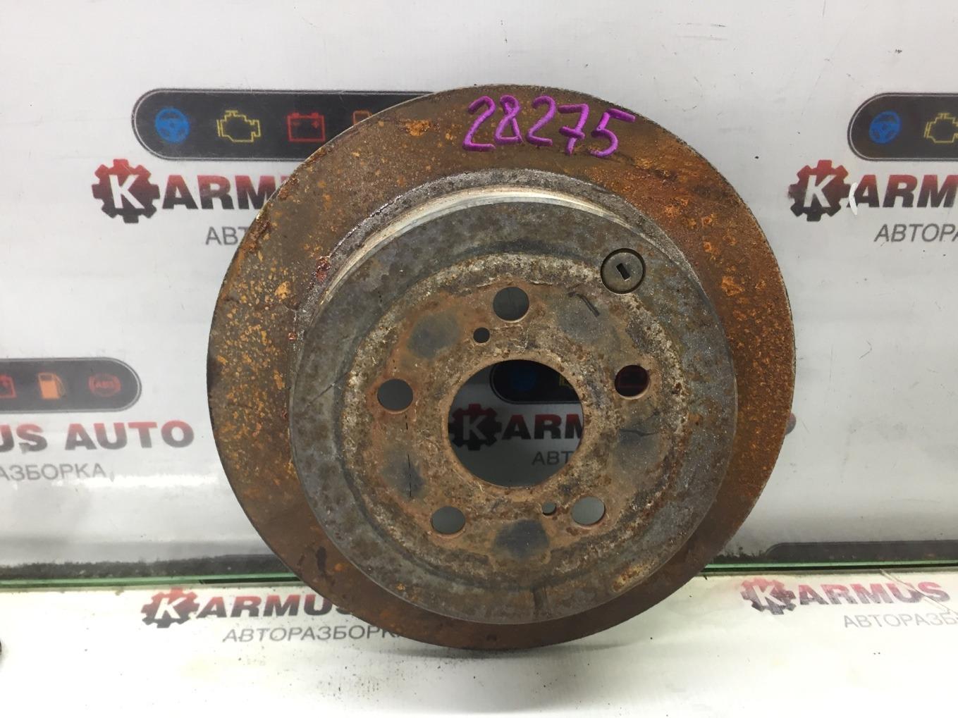 Диск тормозной Toyota Caldina ZZT241W 1ZZFE задний