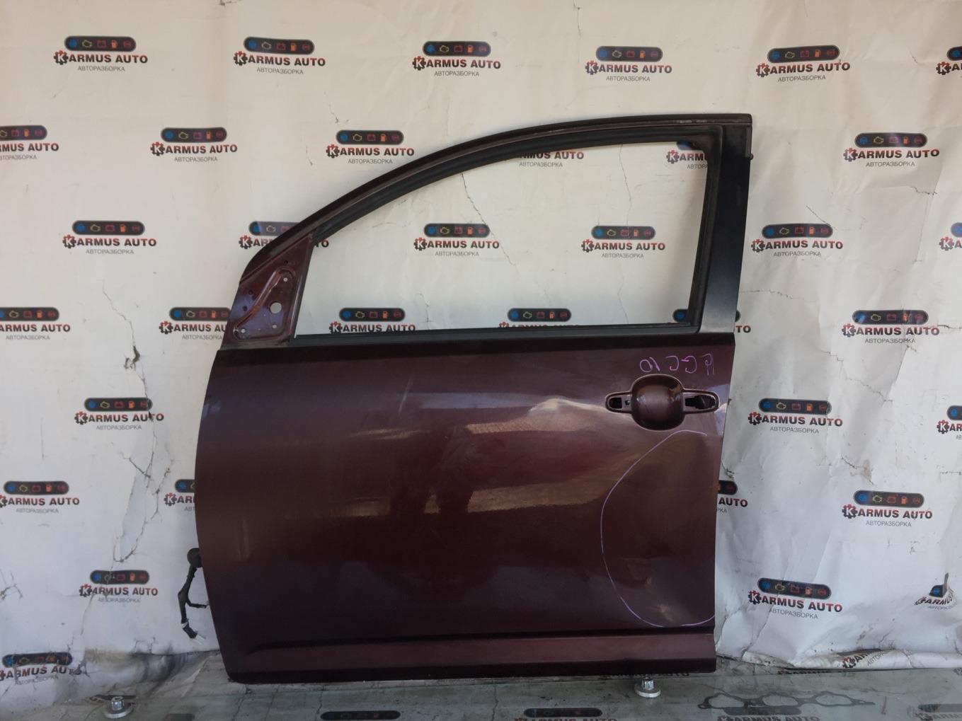 Дверь Toyota Passo KGC10 1KRFE передняя левая