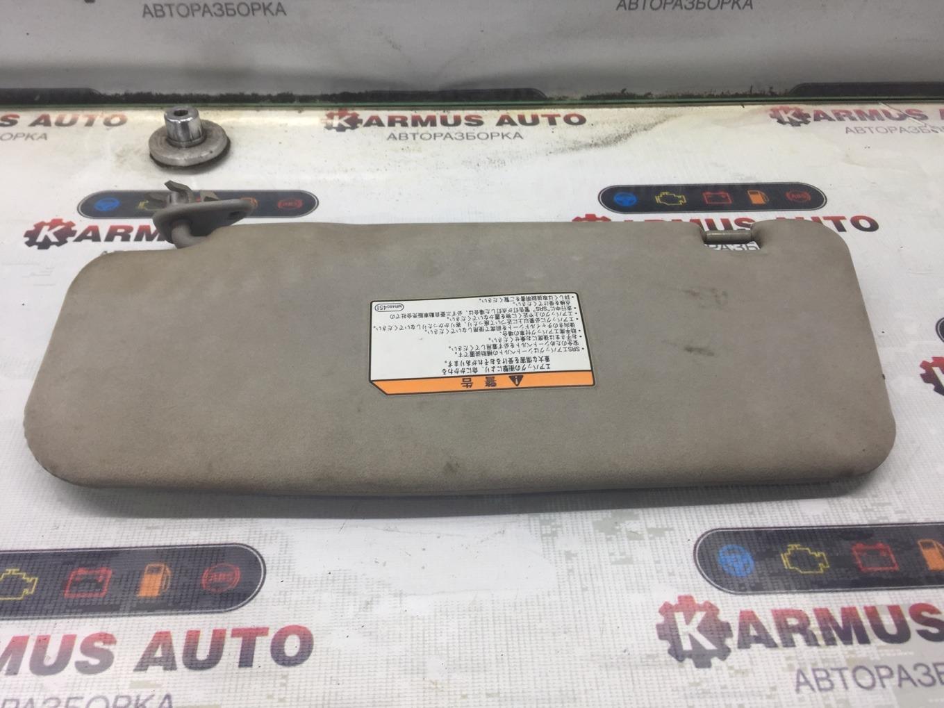 Солнцезащитный козырек Mitsubishi Chariot Grandis N94W 4G64 1997 правый