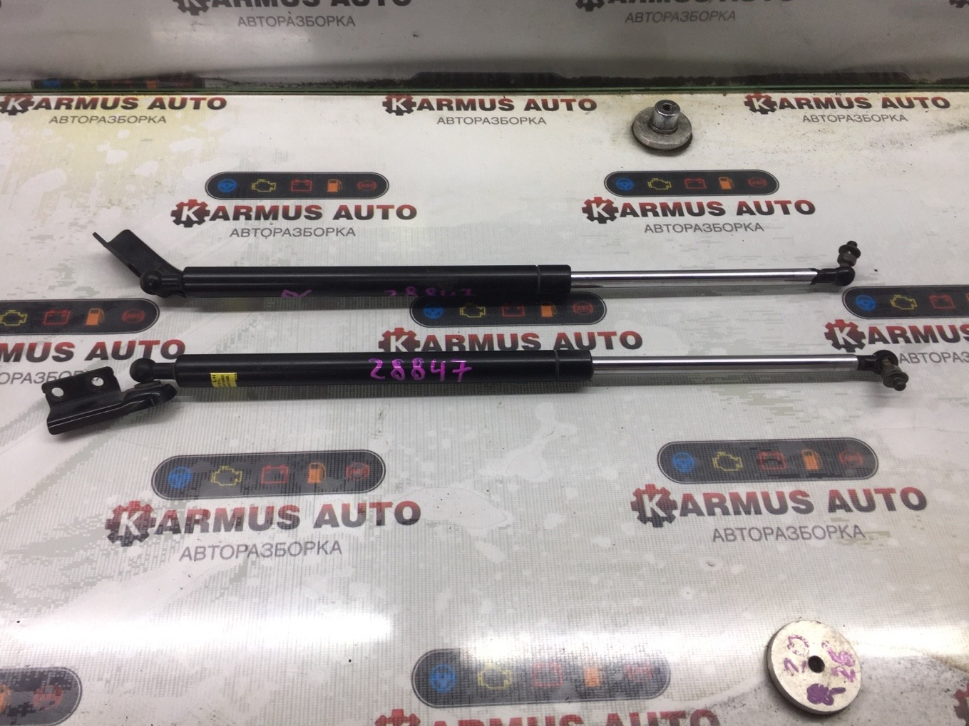 Амортизатор двери багажника Mitsubishi Chariot Grandis N94W 4G64 1997