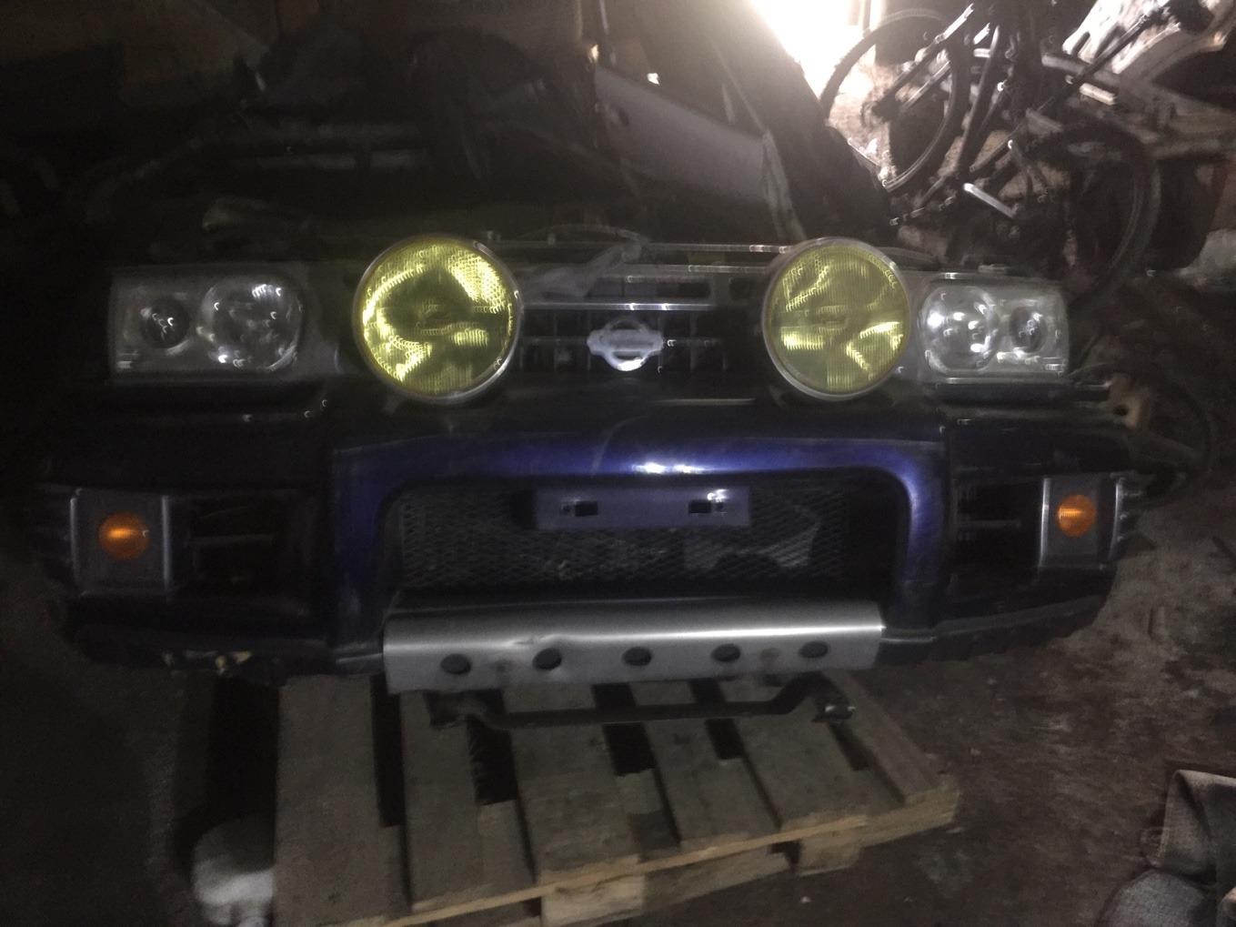 Бампер Nissan Terrano RR50 QD32 передний