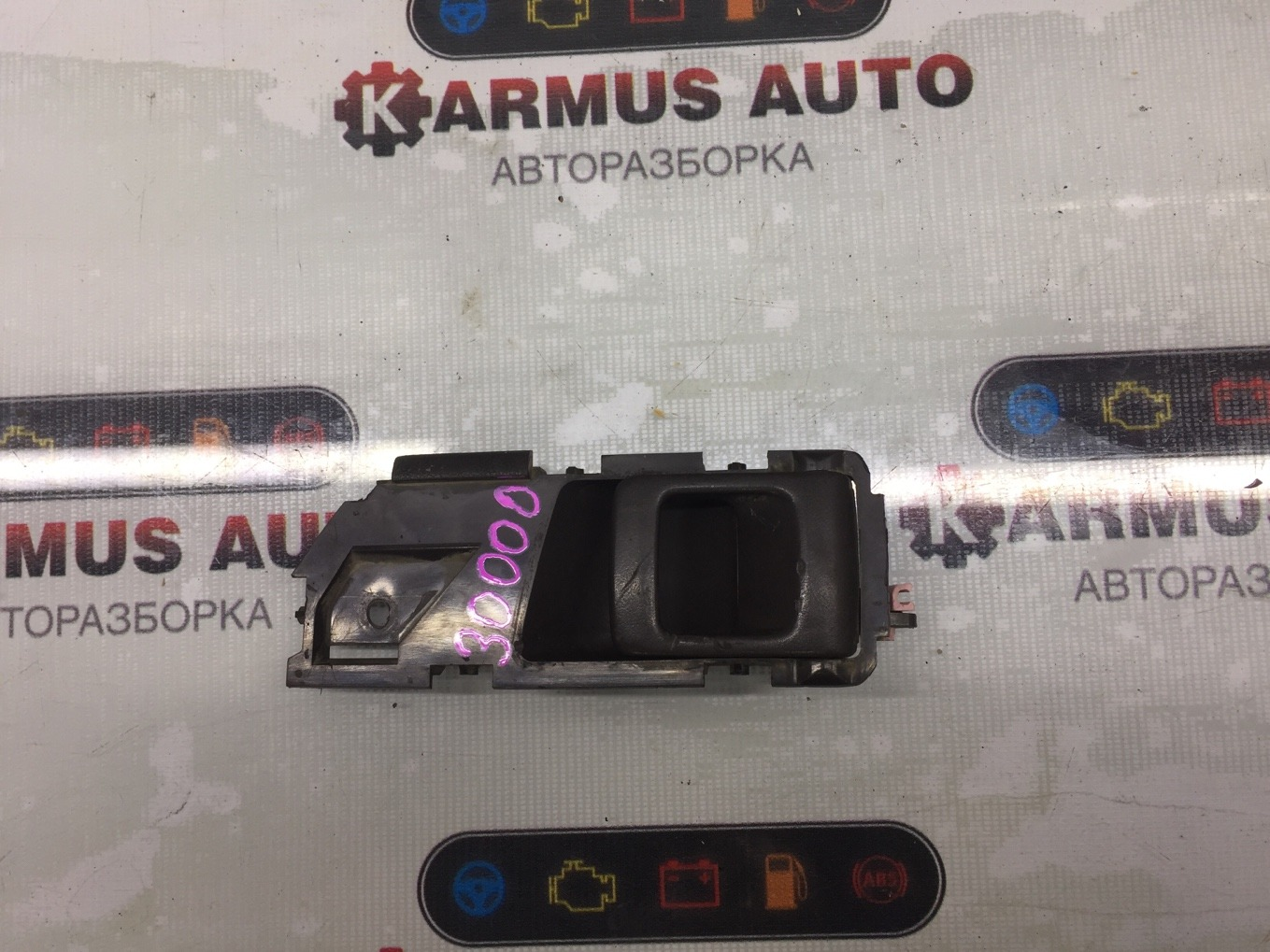 Ручка двери внутренняя Toyota Corona AT170 5AFE 1990 задняя левая