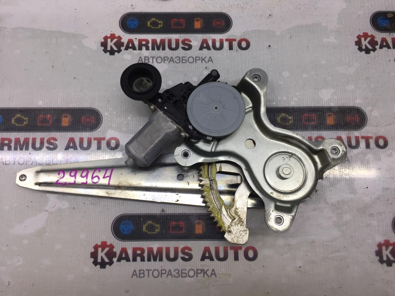 Стеклоподъемный механизм Lexus Gs450H GWS191 2GRFSE 2007 задний правый