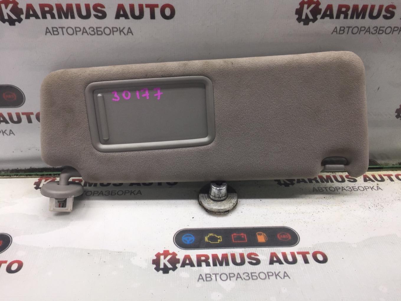 Козырек солнцезащитный Lexus Gs450H GWS191 2GRFSE 2007 правый
