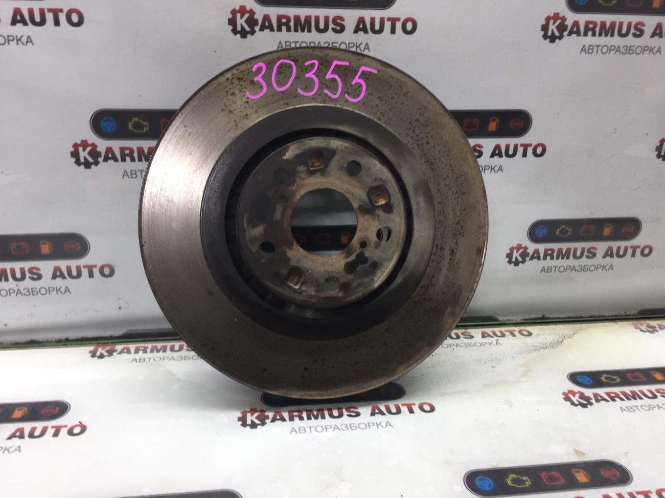 Тормозной диск Lexus Gs450H GWS191 2GRFSE 2007 передний