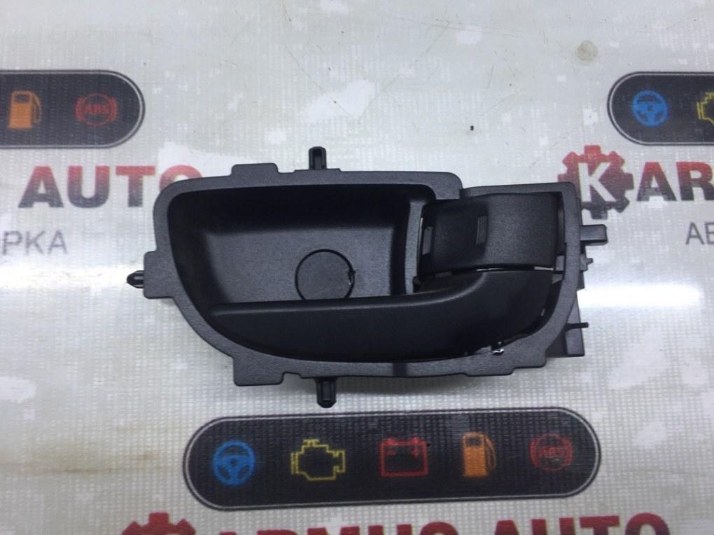 Ручка двери внутренняя Toyota Vitz NSP130 1NRFE задняя правая