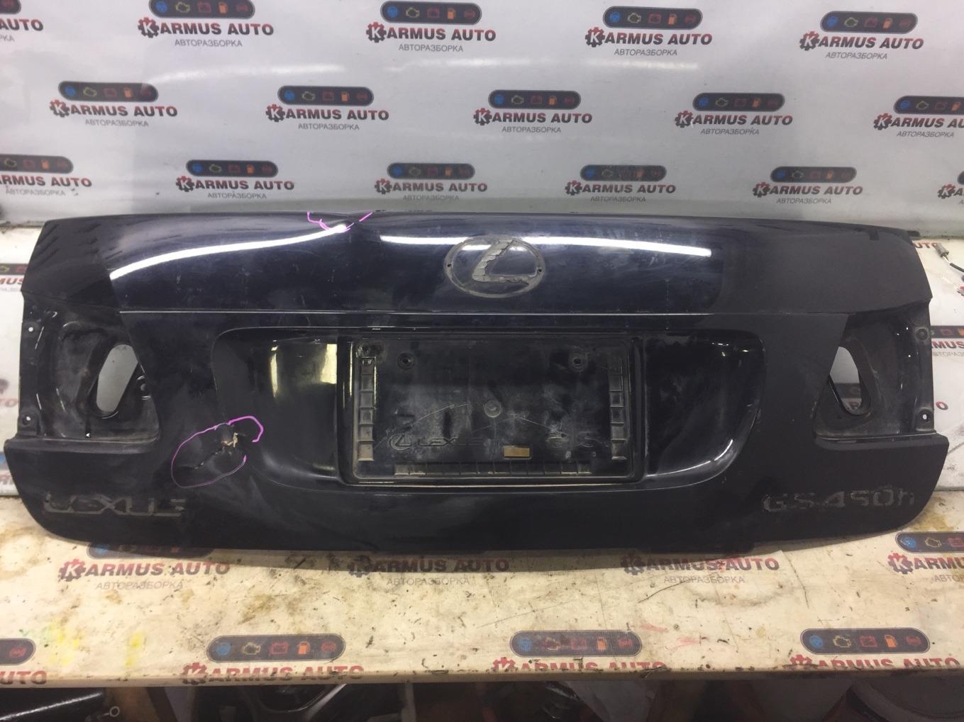 Крышка багажника Lexus Gs450H GWS191 2GRFSE 2007