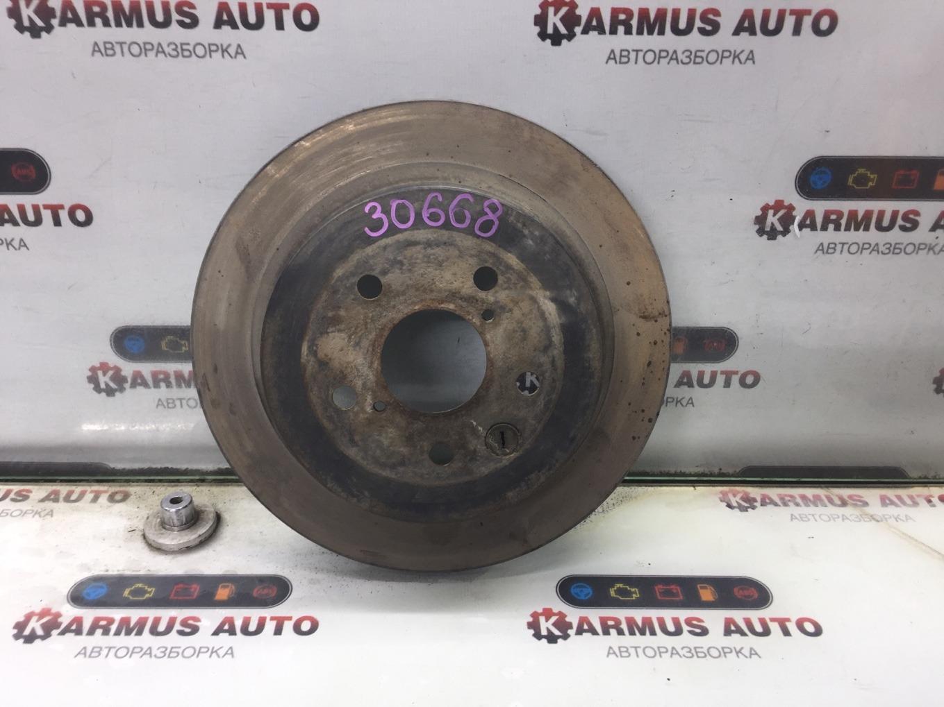 Диск тормозной Lexus Gs450H GWS191 2GRFSE 2007 задний