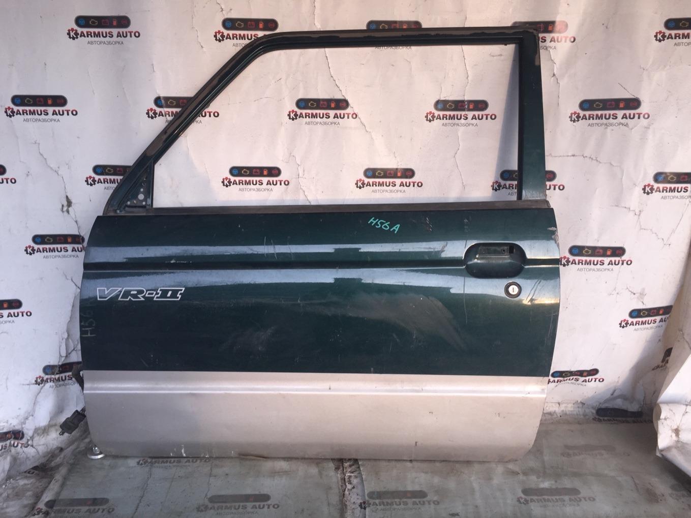 Дверь Mitsubishi Pajero Mini H56A 4A30 передняя левая