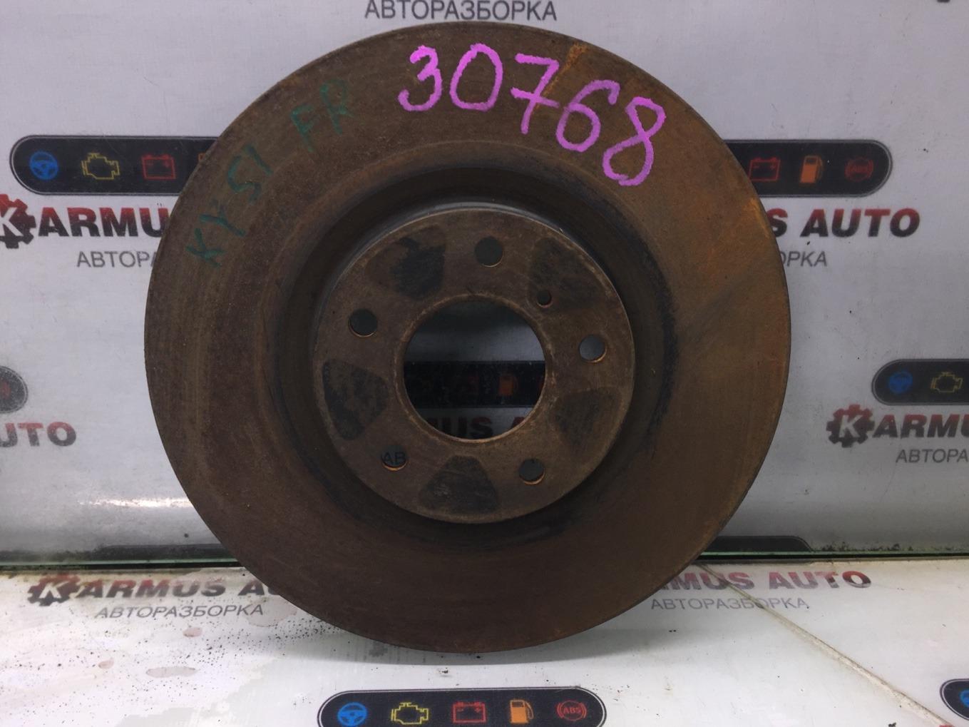 Диск тормозной Nissan Fuga KY51 VQ37VHR передний