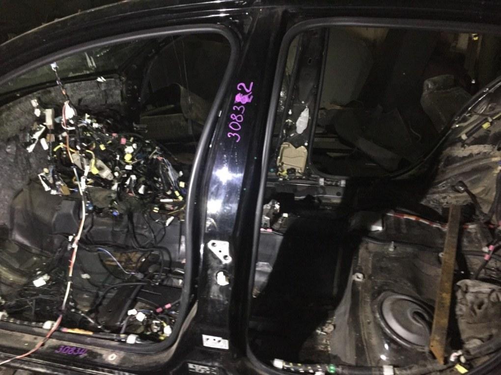 Стойка кузова Lexus Gs450H GWS191 2GRFSE 2007 левая