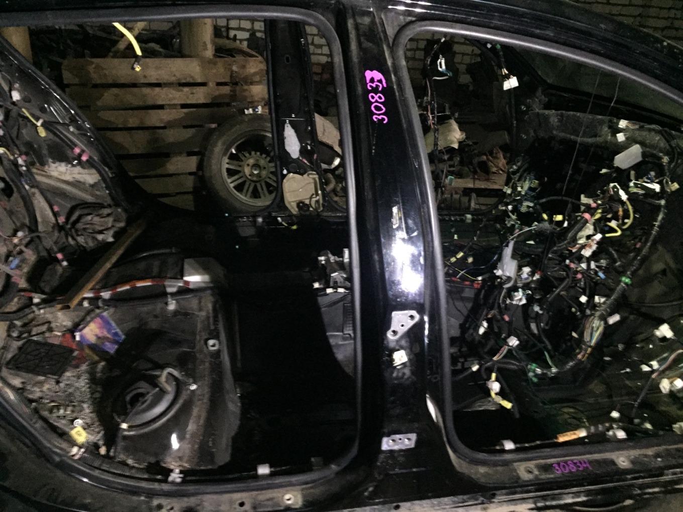 Стойка кузова Lexus Gs450H GWS191 2GRFSE 2007 правая