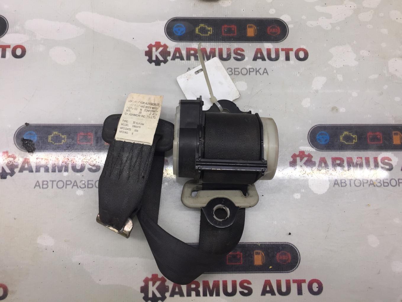 Ремень безопасности Toyota Passo KGC10 1KRFE задний правый