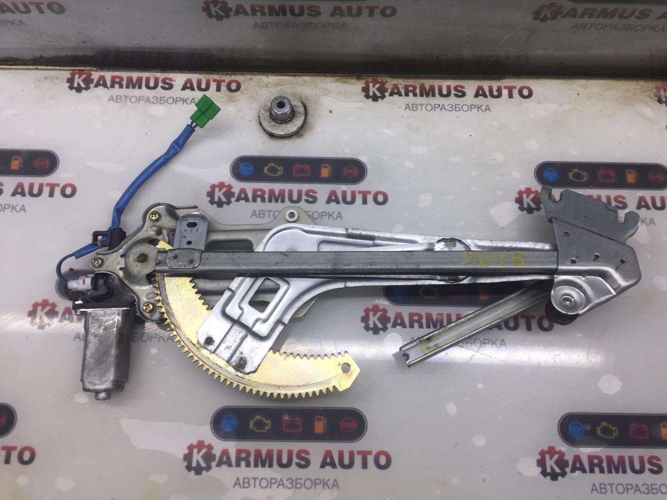 Стеклоподъемный механизм Subaru Forester SG5 EJ202 передний левый