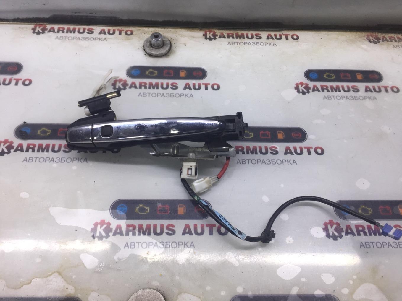 Ручка двери наружная Toyota Crown Majesta GRS182 3GRFSE задняя правая