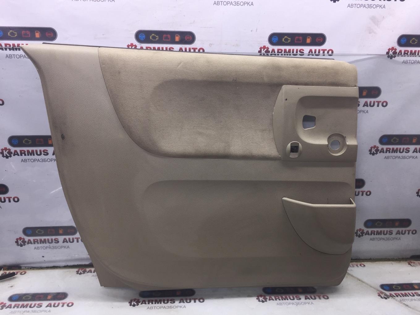 Обшивка двери Nissan Lafesta B30 MR20DE задняя левая