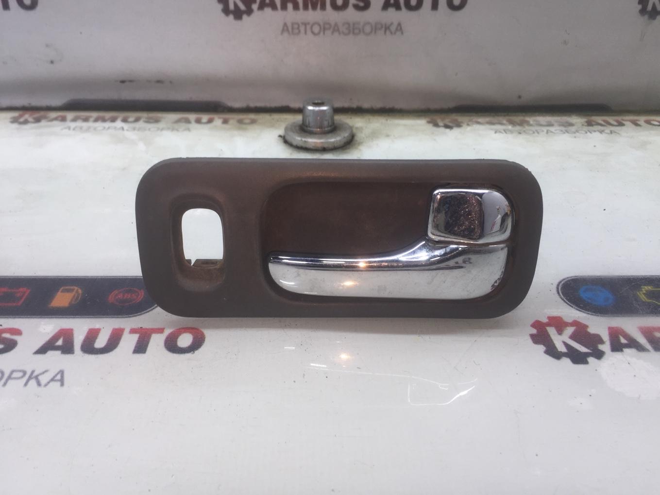 Ручка двери внутренняя Nissan Bluebird EU13 SR18DE задняя правая