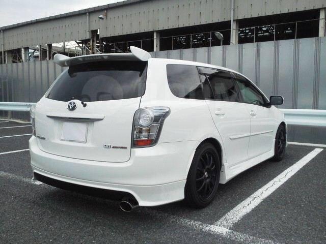 Губа Toyota Corolla Fielder NZE141 1NZFE